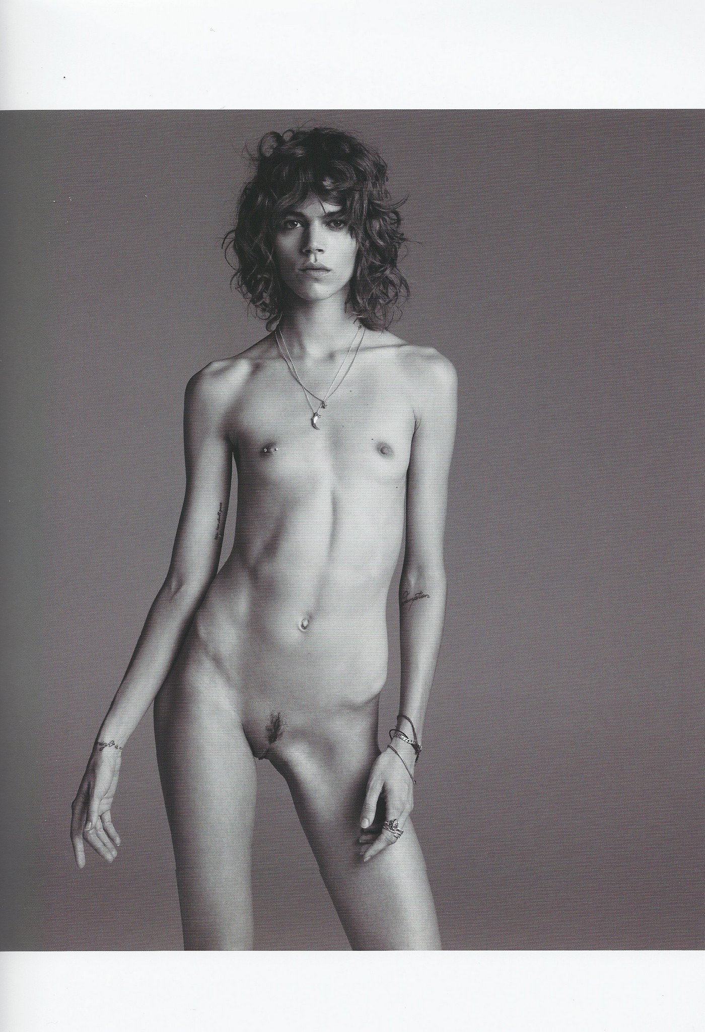 Magazine fashion young non nude models