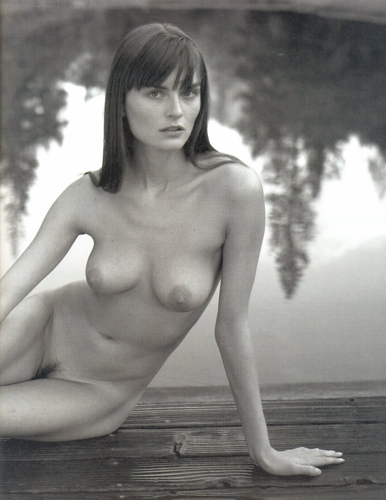 Fashion model photo nude
