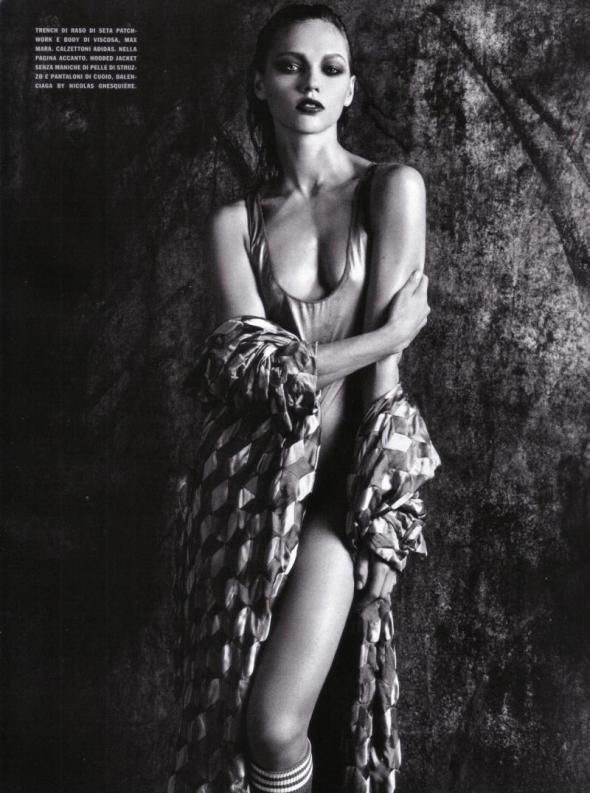 Firmly Sasha pivovarova nude pics agree with