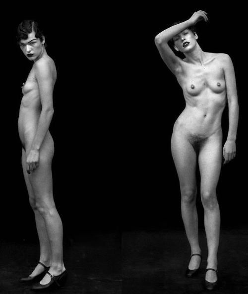 resident evil actress naked