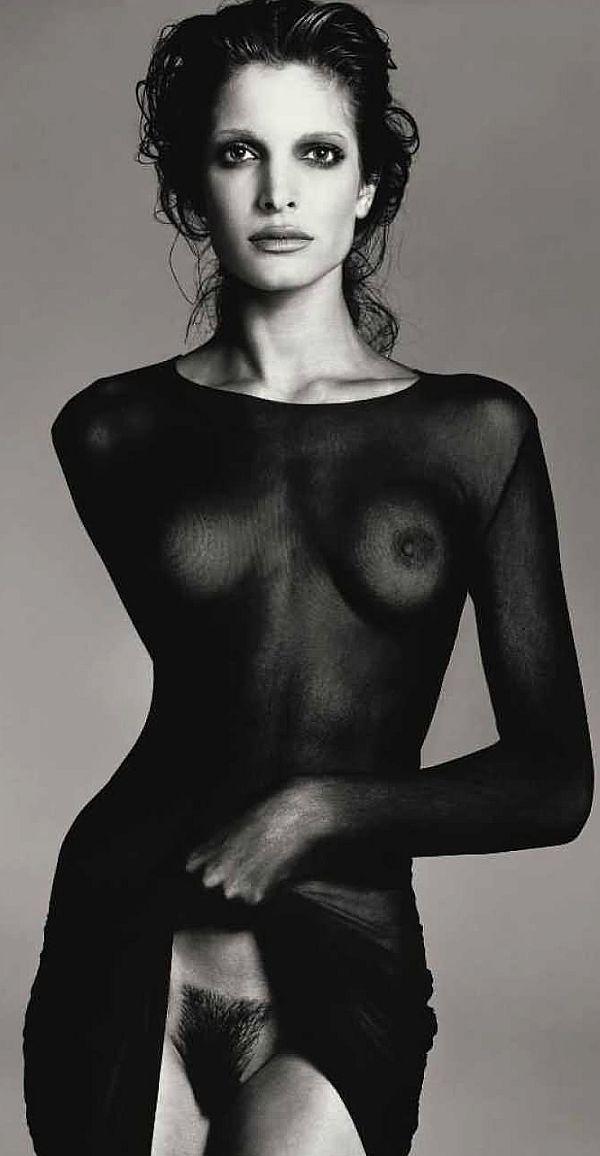 Nackt stephanie seymour Heidi Klum