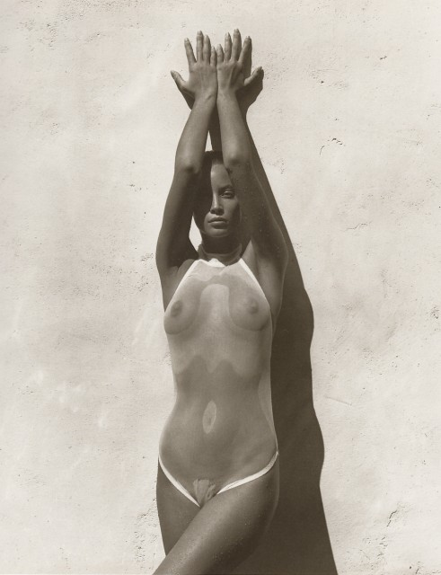 Christy Turlington photgraphed by Herb Ritts