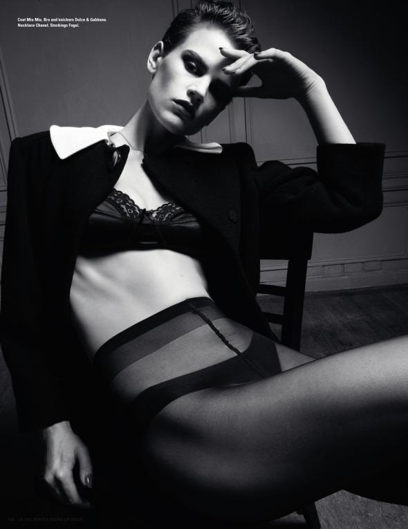 Saskia de Brauw by Daniel Jackson (Keep It Nice - i-D Winter 2011) 9