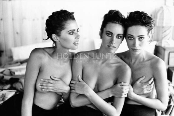 ARTHUR_ELGORT_Heather_Susan_and_Irene_Italian_Vogue