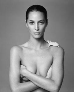 PATRICK_DEMARCHELIER_Christy_and_Mouse